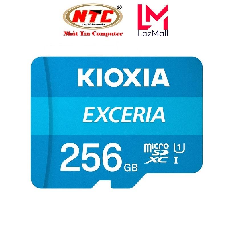 Thẻ nhớ MicroSDXC Kioxia Exceria 256GB UHS-I U1 100MB/s - Formerly Toshiba Memory (Xanh) - Nhat Tin Certified Store