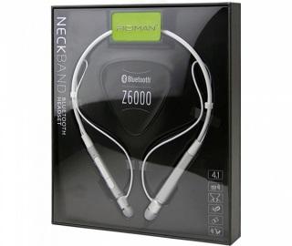 [ SẢ KHO BÁN LỖ ] tai nghe bluetooth. Tai nghe nhét , tai nghe không dây, bluetooth Roman Z6000. âm thanh 3D stereo, pin 160mAh nghe nhạc liên tục 5-8h bluetooth v 4.1 . Bảo Hành 1 Năm .Lỗi 1 Đổi 1 thumbnail