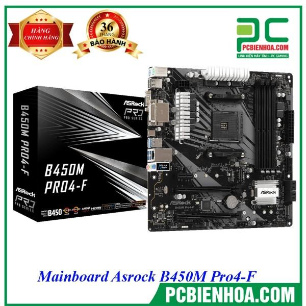 Bảng giá Mainboard Asrock B450M Pro4-F ( AM4 / M-ATX / 4xDDR4 ) Phong Vũ