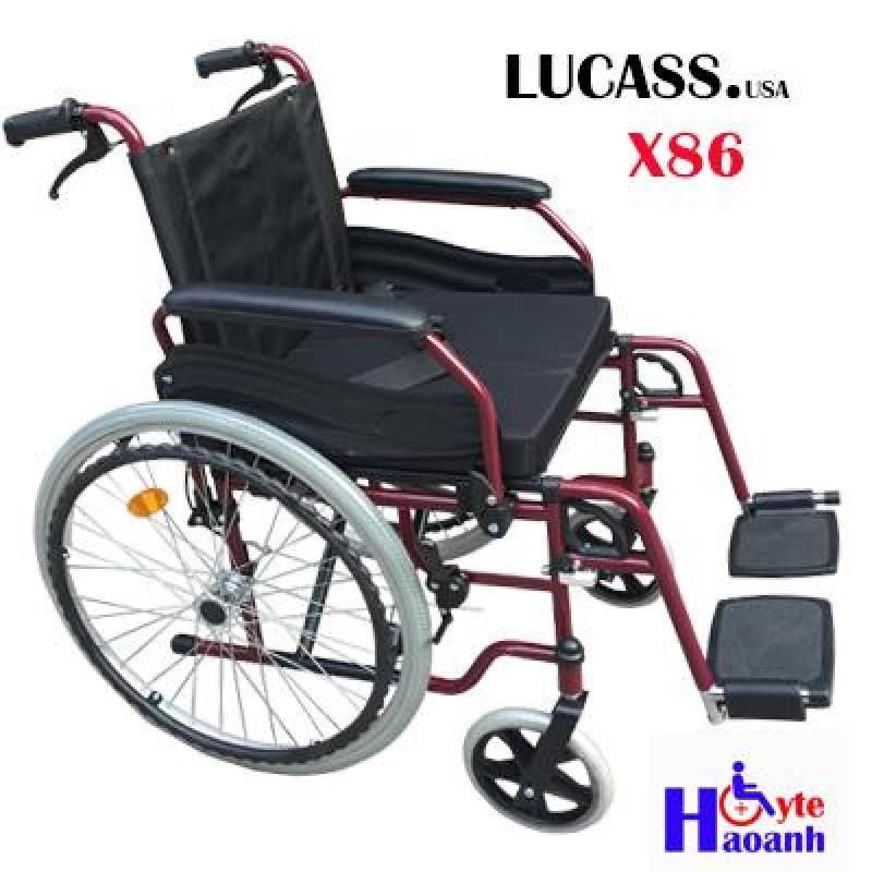 Xe lăn tay có phanh Lucass X86