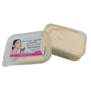Kem dưỡng trắng da toàn thận Bạch Sâm BS1 100g (Trắng) thumbnail