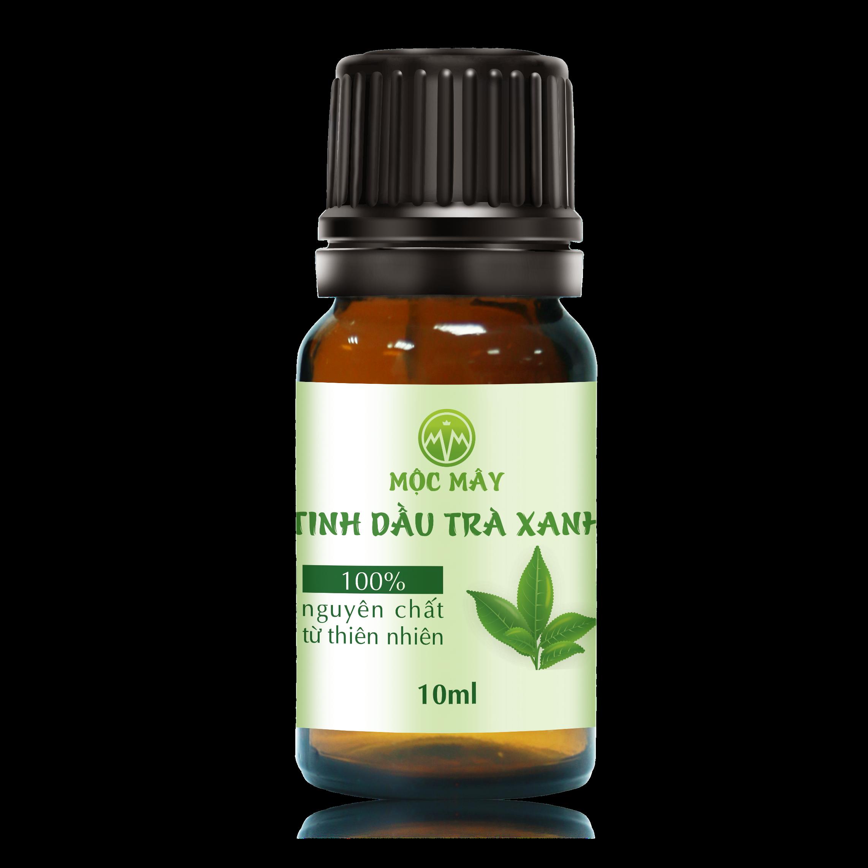 Tinh dầu Trà Xanh 10ml nguyên chất Mộc Mây - tinh dầu nguyên chất từ thiên nhiên (có kiểm định bộ y tế, chất lượng và mùi hương vượt trội)
