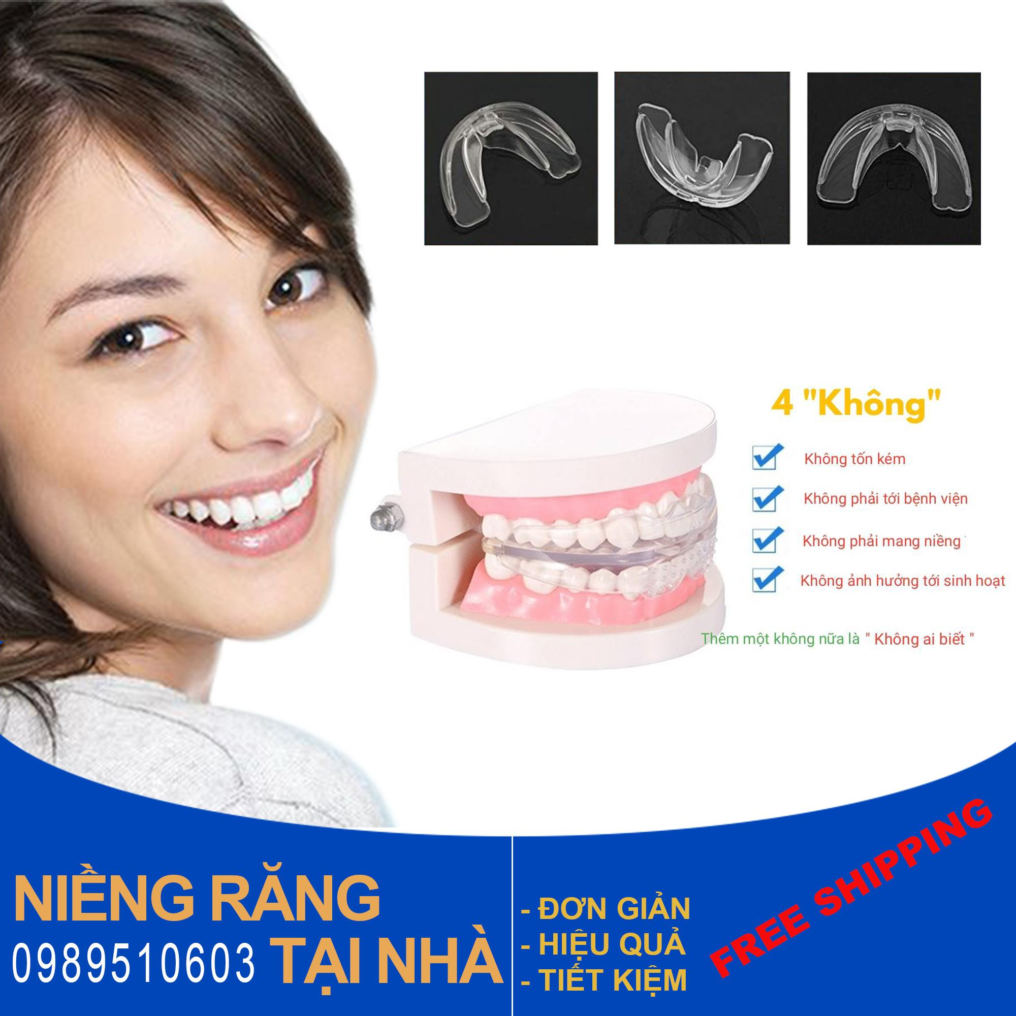 Dụng Cụ Niềng Răng Tại Nhà ( 3 giai đoạn)