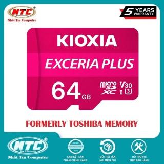 [HCM]Thẻ nhớ MicroSDXC Kioxia Exceria Plus 64GB U3 4K V30 A1 R100MB s W65MB s (Tím) - Nhất Tín Computer thumbnail