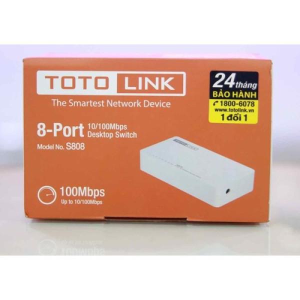 Bảng giá Thiết bị chia mạng lan Totolink 8 cổng s808, sản phẩm tốt, chất lượng cao, cam kết như hình, độ bền cao, xin vui lòng inbox shop để được tư vấn thêm về thông tin Phong Vũ