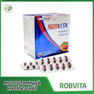 TPCN bổ sung multivitamin và khoáng chất bồi bổ sức khỏe ROBVITA - Medi&Beauty - Robinson Pharma Usa-Hộp 100 viên thumbnail