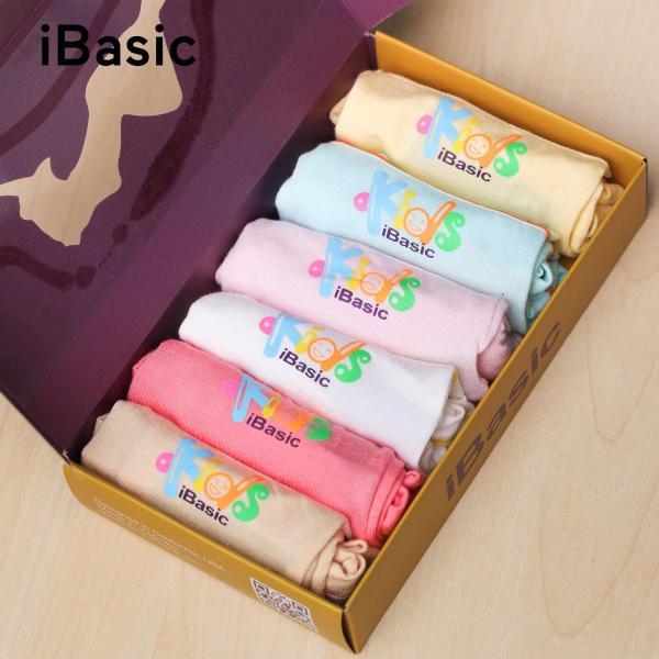 Giá bán Hộp 6 cái quần lót bé gái boyshort iBasic KG002P