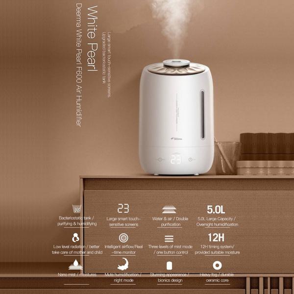 Máy tạo độ ẩm Deerma humidifier - F600