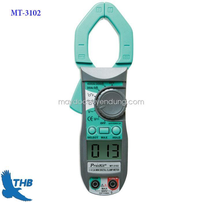 Ampe kìm dòng điện tử AC Pro'skit MT-3102