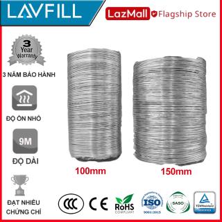 2m Ống dẫn gió mềm, ống thông gió bạc chịu nhiệt cao chính hãng LAVFILL LFP-09 thumbnail