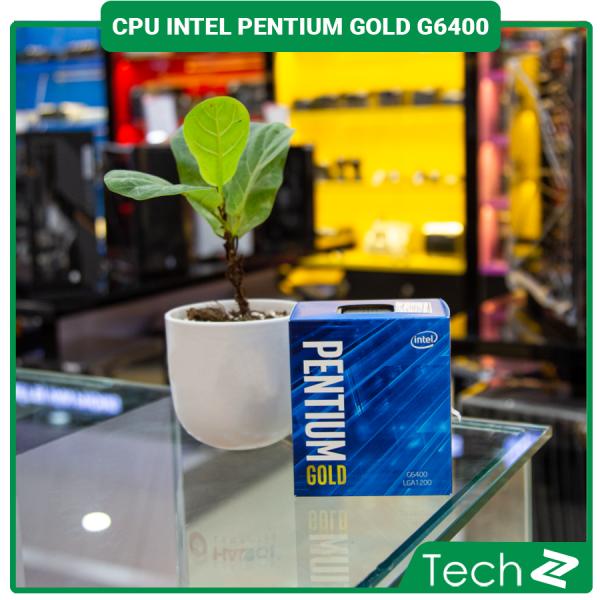 Bảng giá CPU Intel Pentium Gold G6400 (4.0GHz, 2 nhân 4 luồng, 4MB Cache, 58W) - Socket Intel LGA 1200 Phong Vũ
