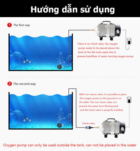 Máy sục sủi thổi khí oxy hồ bể cá cảnh Resun ACO 003 ( 35w - 220v)  máy thổi oxy cho hồ bể cá 35w  máy sục khí bể cá điện 220v  máy sục khí bể cá mini  máy sục khí  máy sục khí mini  máy sục oxi bể cá