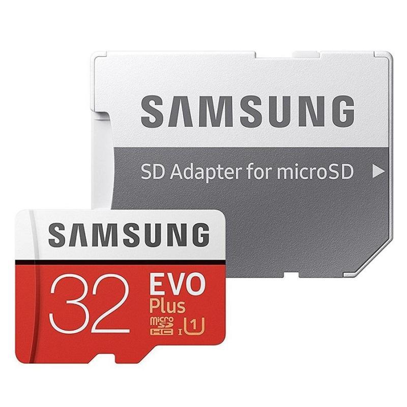 Thẻ nhớ MicroSD Samsung Evo plus - 32GB (Kèm Adapter)