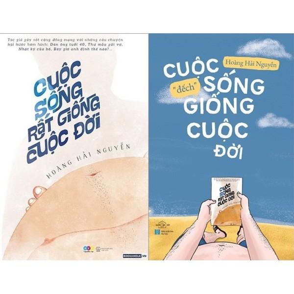 Mua nguyetlinhbook Sách - Combo Cuộc Sống Rất Giống Cuộc Đời + Cuộc Sống Đếch Giống Cuộc Đời - Tác Giả Hoàng Hải Nguyễn