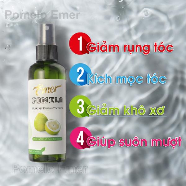 Tinh dầu bưởi xịt mọc tóc Pomelo 100ml giúp giảm rụng tóc, kích mọc tóc nhanh cho mái tóc dày và dài hơn gấp 2 lần đến 3 lần cao cấp