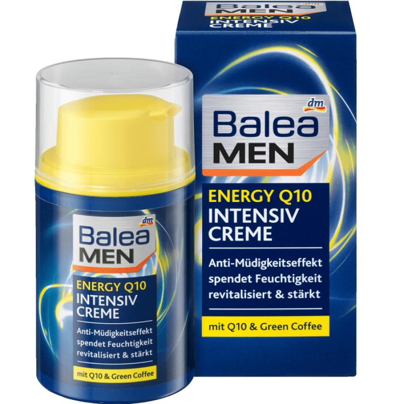 Kem dưỡng chống lão hóa dành cho nam Balea Men Energy Q10 Intensiv Creme 50ml - Đức giá rẻ