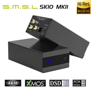 New Version SMSL Sanskrit 10th SK10 MKII AUDIO DAC Decoder AK4493 DSD512 Hifi Optical Input Coaxial Support OTG Remote Control - Bộ Giải Mã Âm Thanh DAC S.M.S.L Sanskrit MKII Chipset Xử Lý AK4493 PCM 32Bit 768kHz Hỗ Trợ Nghe Nhạc DSD512 Qua Cổng USB thumbnail