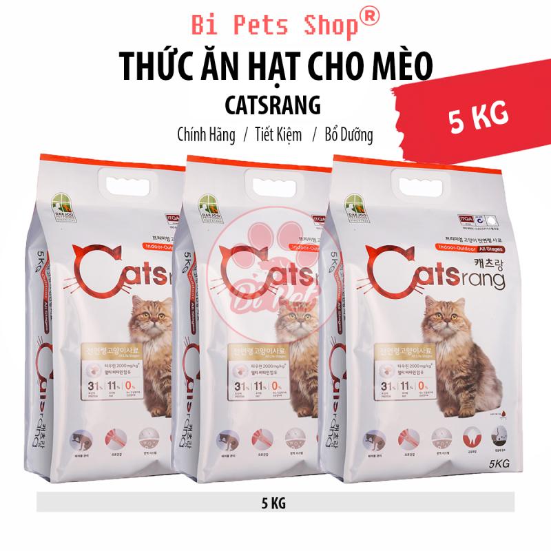 Thức Ăn Hạt Cho Mèo Catsrang - Túi 5Kg