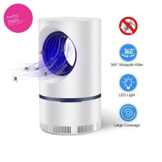 Đèn Bắt Muỗi Hình Trụ Cắm Cổng USB Thông Minh Bảo Hành 12 Tháng - máy bắt muỗi thumbnail