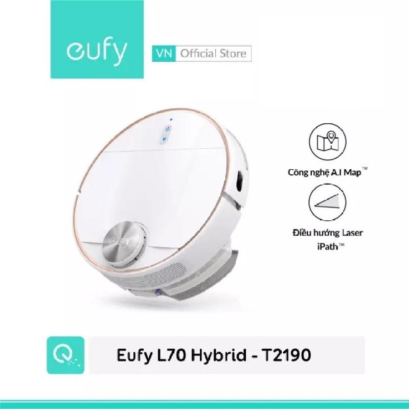 Robot Hút Bụi lau nhà thông minh Eufy RoboVac L70 Hydrid - T2190