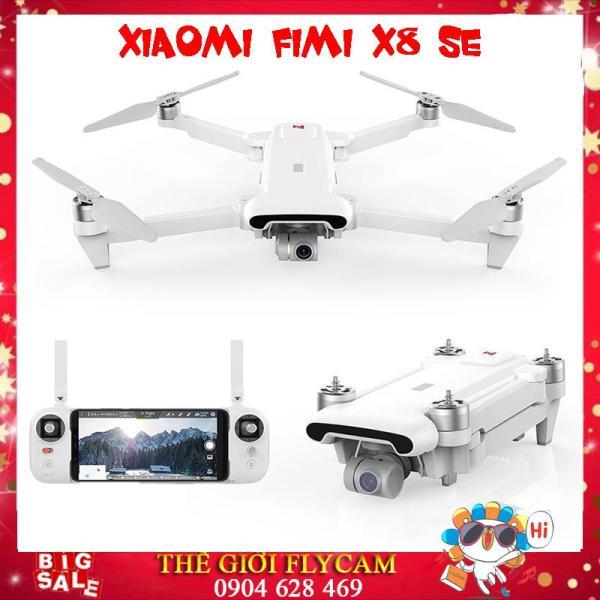 [Đẳng Cấp] Flycam] Flycam Xiaomi Fimi X8 SE Gấp Gọn, Gimbal Trống Rung 3 Trục, Quay Phim 4K, Tầm xa 5KM, Thời Gian Hoạt Động 33 Phút ( Máy bay chụp ảnh FlycamF11, Xiaomi. fimi A3. mi drone 4k, hubsan zino, mavic air, dji spark)