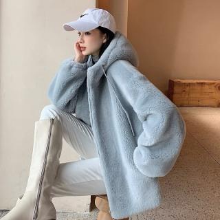 [HCM]Áo khoác lông nữ form rộng ấm áp mùa đông thiết kế tinh tế duyên của các nàng siêu phẩm kim gia mới thumbnail