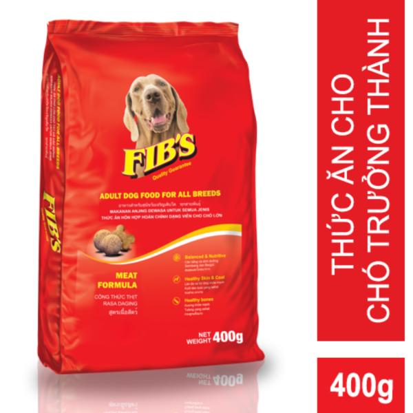 Thức ăn cho chó trưởng thành Fibs 400 gram