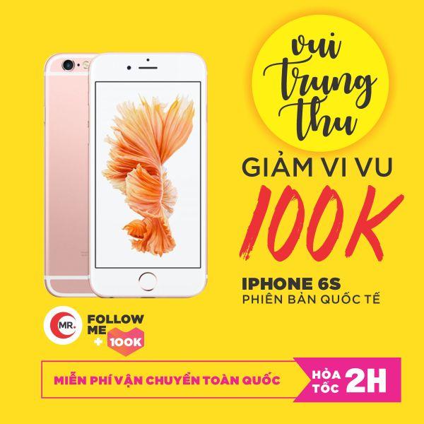 Điên thoại Apple iPhone 6S 32GB 64GB RAM 2GB QUỐC TẾ FullBox - Full Phụ Kiện Điện Thoại Smartphone Điện Thoại Thông Minh Giá Rẻ Bảo hảnh 6 thàng MR CAU