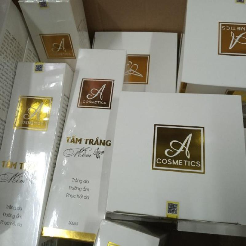 Sỉ 10 Bộ Combo tắm trắng và kem body mềm A Cosmetics ( Gồm 10 Chai Kích Và 10 Hủ Body ) nhập khẩu