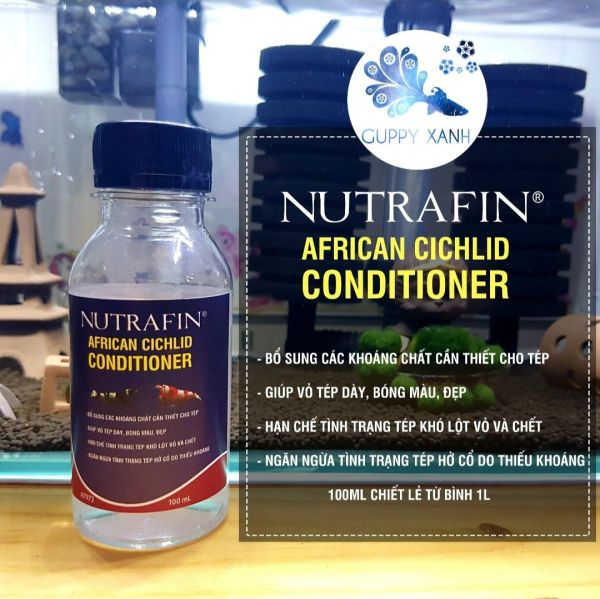 Khoáng tép cao cấp Nutrafin 100ml  - hỗ trợ lên màu và phát triển cho tép cảnh