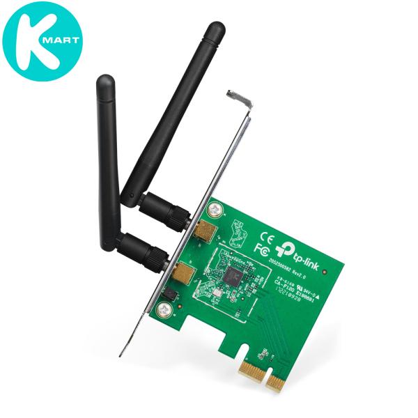 Bảng giá Card Mạng WIFI TP-Link TL-WN881ND PCI Express Chuẩn N Tốc Độ 300Mbps - Hàng Chính Hãng Phong Vũ