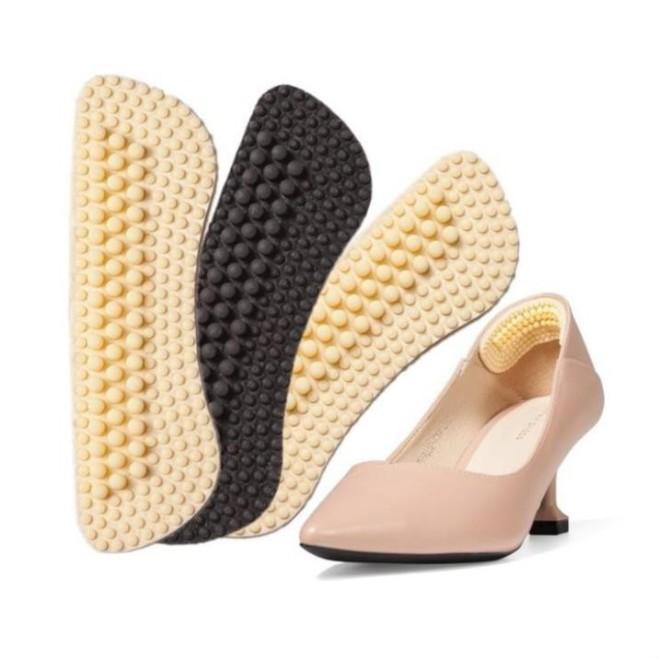 Set 2 Miếng lót giày silicon 4D chống đau chân giá rẻ