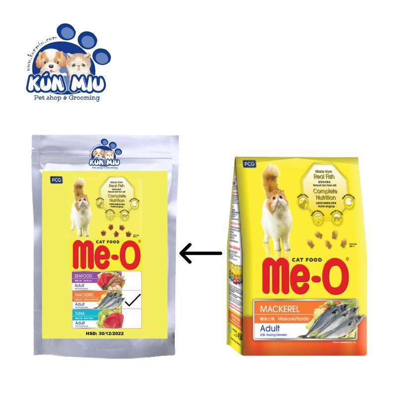 KunMiu HN- (Gói 1,2kg và chiết 1kg) thức ăn dạng hạt cho mèo lớn ME-O (vị Hải sản , cá thu & cá ngừ) đồ ăn cho mèo trưởng thành