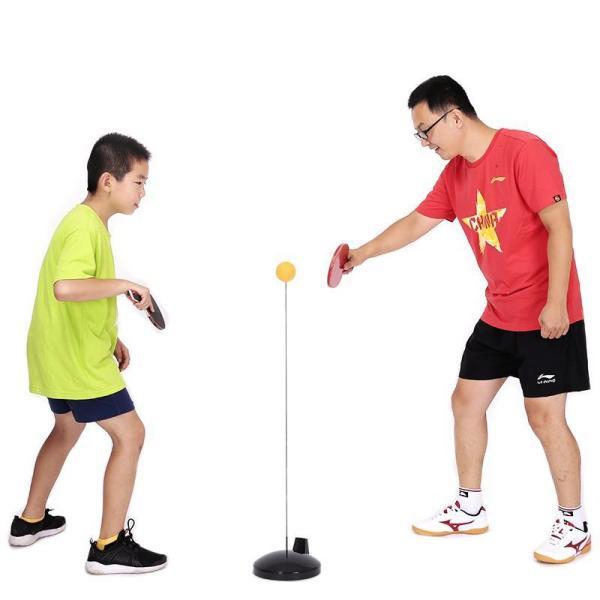 Bóng bàn luyện phản xạ cho bé - Bộ đồ chơi bóng phản xạ - Dụng cụ tập đánh bóng bàn cho mọi lứa tuổi thời đại 4.0