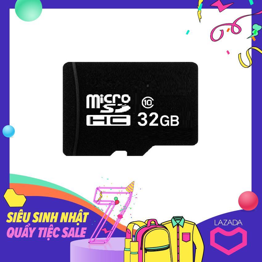 Thẻ Nhớ MicroSD 32Gb (Đen) 16Gb Đen Có Giá Rất Cạnh Tranh