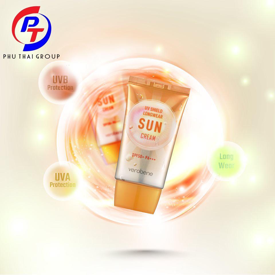 Kem Chống Nắng Verobene UV Shield Sun Cream tốt nhất