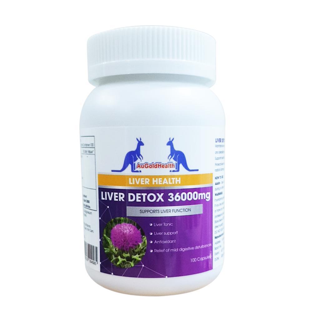 Augoldhealth- Thực phẩm chức năng bảo vệ sức khỏe Thải Độc Gan Liver Detox cao cấp