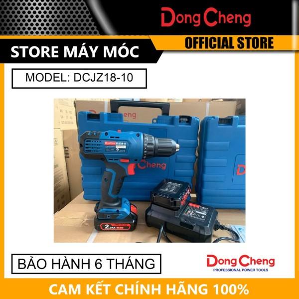 Máy Khoan Pin Dongcheng DCJZ18-10 14.4V (2 Pin 14.4V/2AH, 1 Sạc)- HÀNG CHÍNH HÃNG