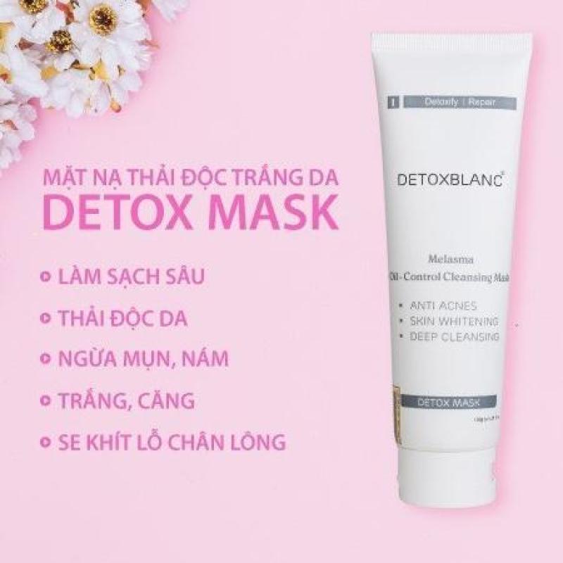 mặt nạ sủi bọt thải độc da Detox Blanc kèm quà