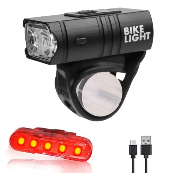 Mua Bicycle Front Light USB Rechargeable LED 800LM 6 Modes MTB Bike Front Lamp Flashlight