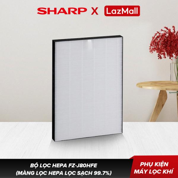 Bộ Lọc HEPA Sharp FZ-J80HFE Dành Cho Máy FP-J60E-W, FP-J80EV-H - Hàng Chính Hãng