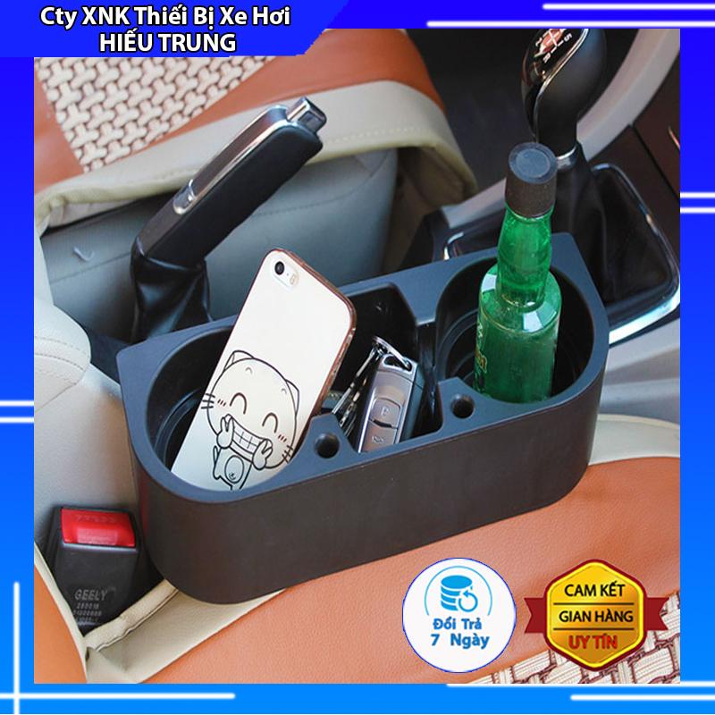 Khay Để Đồ trên xe hơi ĐA NĂNG, Hộp đựng đồ trên ô tô CAO CẤP kiểu dáng hộc để đồ có thể chèn khe ghế oto tiện dụng