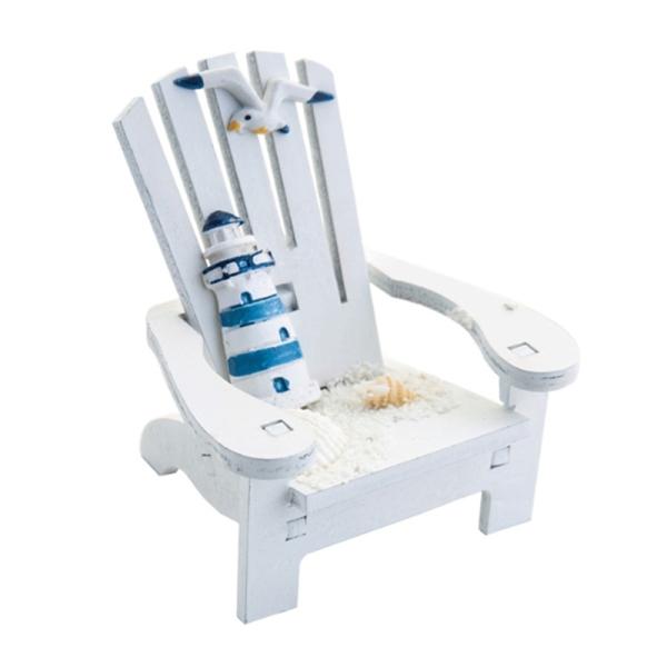A Set of Mediterranean Beach Chair Home Decoration Decoration Creative Cute Decoration Ocean Beach Chair Decoration giá rẻ