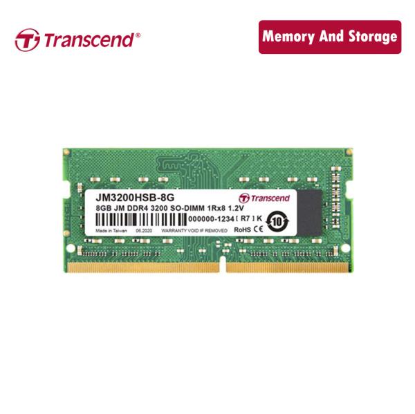 Bảng giá Ram Transcend DDR4 8GB 3200Mhz SO-DIMM chính hãng Phong Vũ