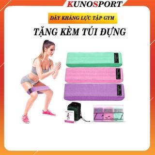 Dây Kháng Lực Kunosport Kèm Túi Đựng I Đàn Hồi Kháng Lực Tập Mông Đùi Cho Nữ ZN02 thumbnail