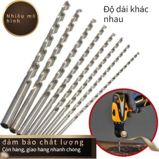 Length160-300mm Đường Kính 2-6Mm Mũi Khoan Thân Thẳng HSS Siêu Dài thumbnail