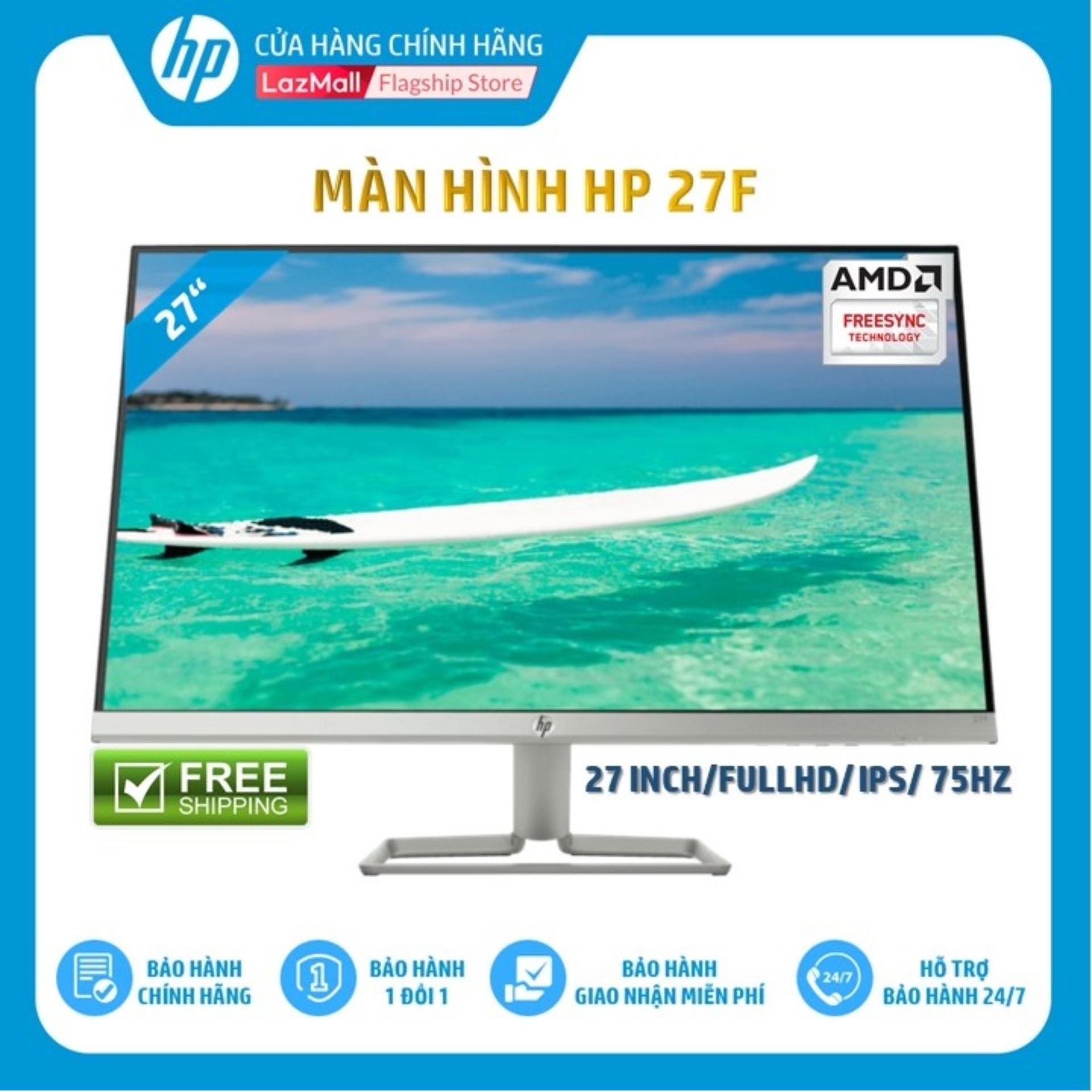 Màn hình HP 27f (27 Inch/FULLHD/75Hz/5Ms/IPS/3AL61AA) - Hàng Chính Hãng