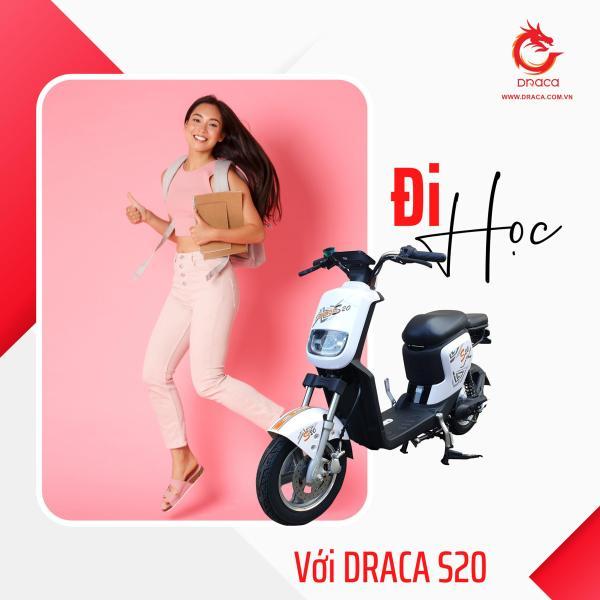 Mua Xe đạp điện Draca S20 - Nam Long Draca