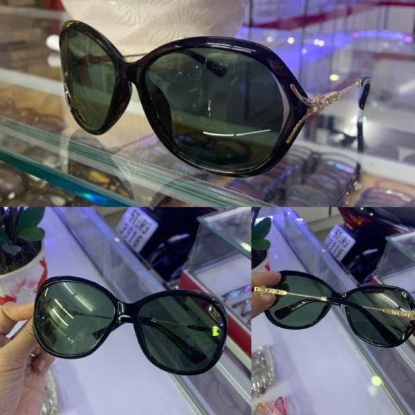 Giá bán Kính mát thời trang nữ tròng polirazed chống Uv cực tốt mẫu đẹp, mắt kính MInh hiệu