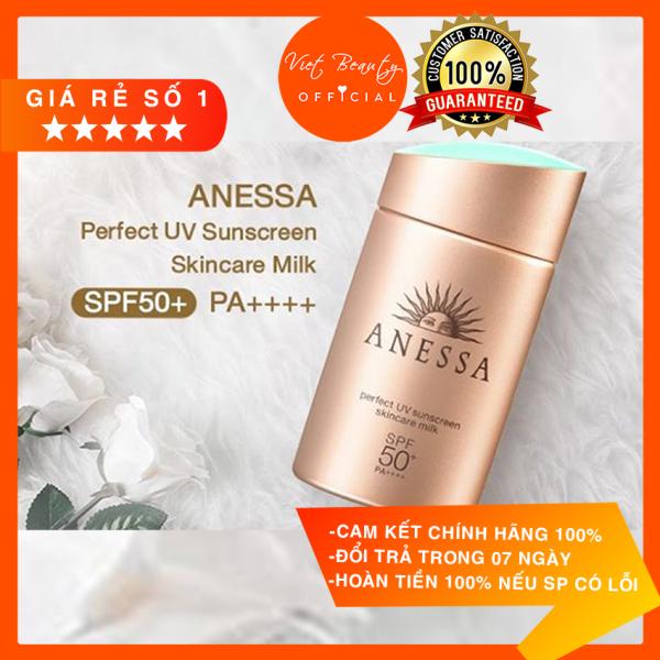 (💥MỚI NHẤT DATE 2024 💥) Kem Chống Nắng Anessa Perfect UV Sunscreen Mild Milk For Sensitive Skin Spf 50+ Pa+++ nhập khẩu